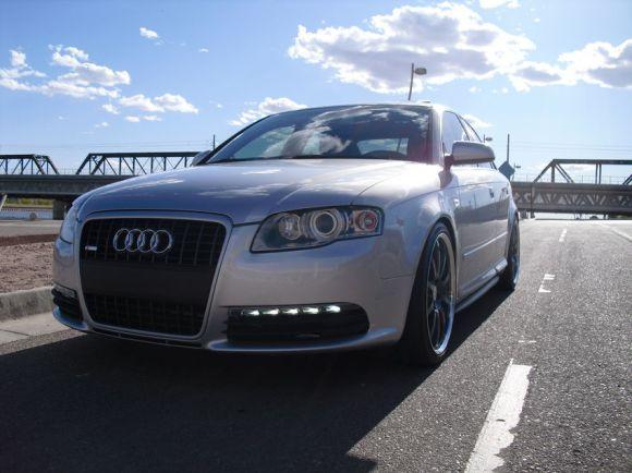Audi A4 B7 Silver