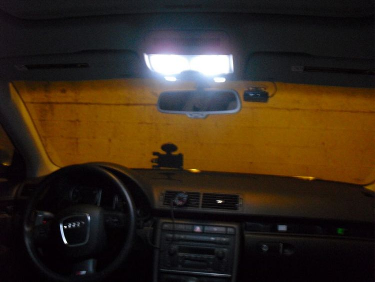 Audi A4 LED Dome Lights