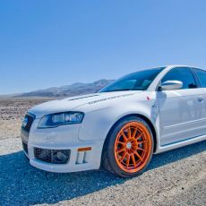Featured Ride: Blake's Modified Ibis White Audi RS4