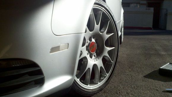 Clear Sidemarkers B7 Audi A4 S4