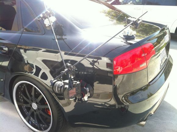 Audi A4 Camera Mount