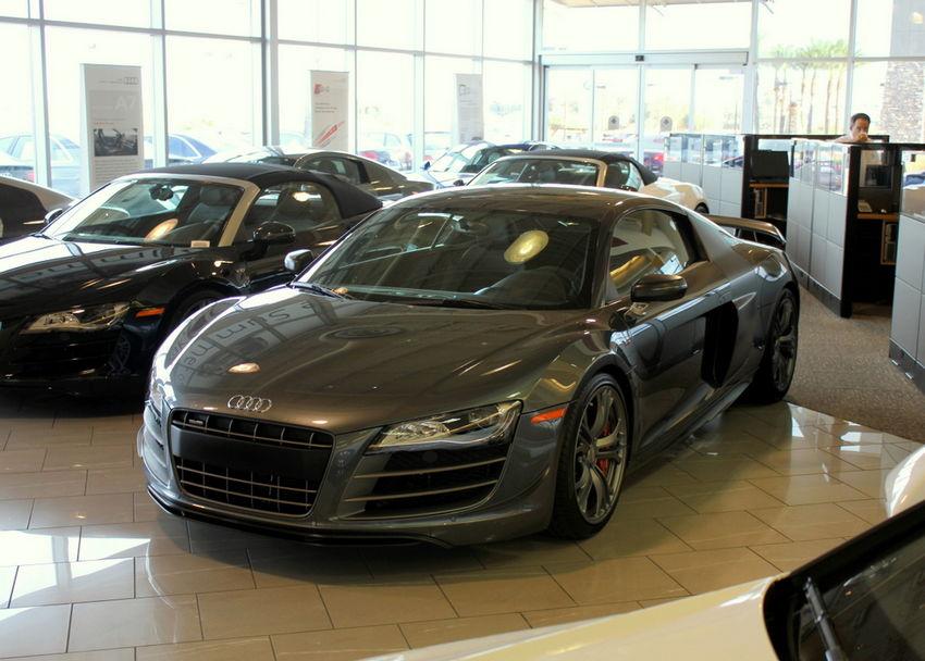 Audi R8 GT Photoshoot in Daytona Grey – Nick\'s Car Blog