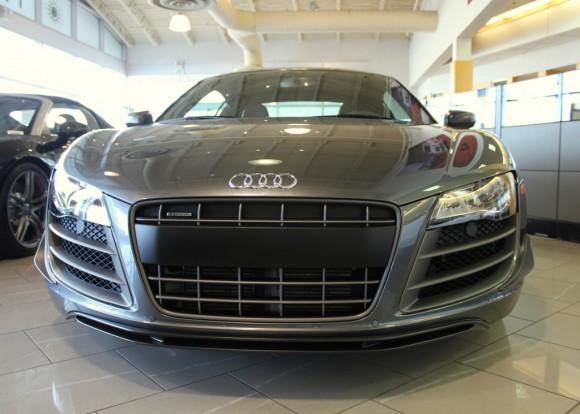 Audi R8 GT Front