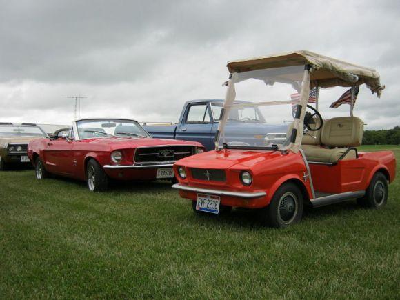 Mustang & Mustang Golf Cart