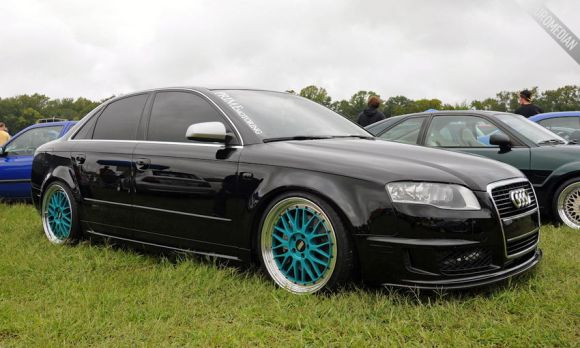 Stevens 2008 Audi A4 DTM on BBS LM Wheels