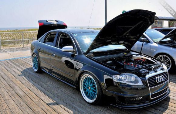 Stevens DTM A4 with BBS LMs