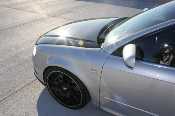 Carbon Fiber Lip Audi A4 B7