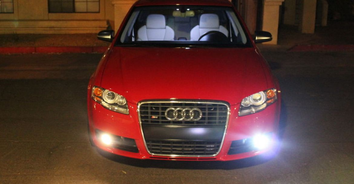 HID Fog Lights on a B7 Audi A4 and S4 | Nick's Car Blog
