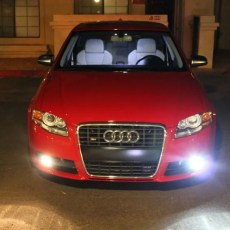 HID Fog Lights on a B7 Audi A4 and S4