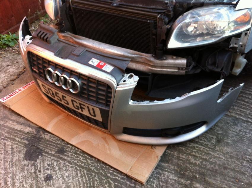 b7 a4 bumper removal
