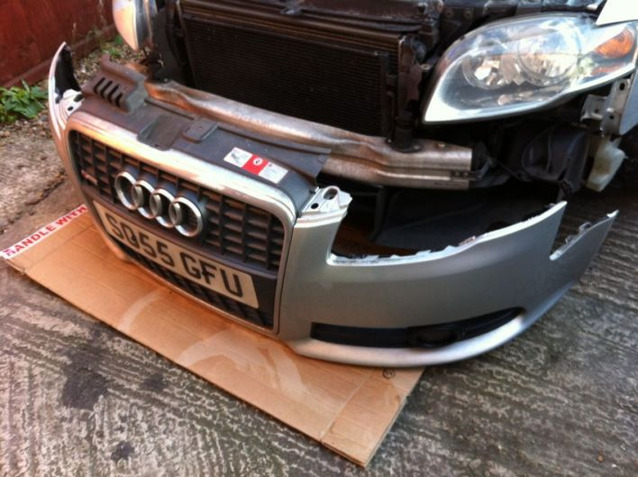 B7 Bumper Removal
