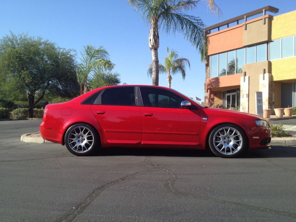 My B7 S4 on STaSIS Ohlins SL Coilovers