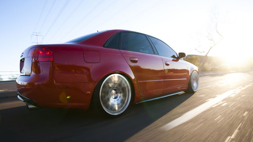 Rolling B7 A4 on Rotiform BLQs