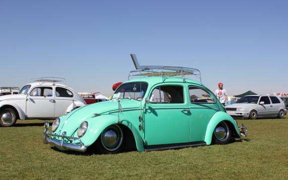 Light Blue VW Beetle