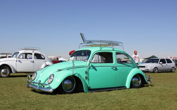 Light Blue VW Beetle