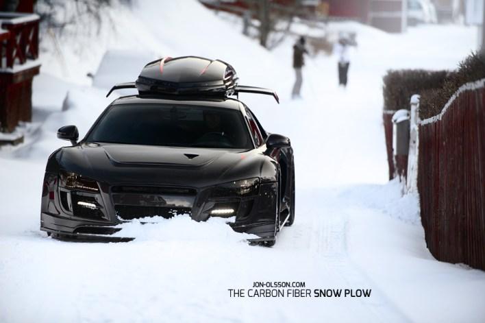 Jon Olsson's R8 in the Snow