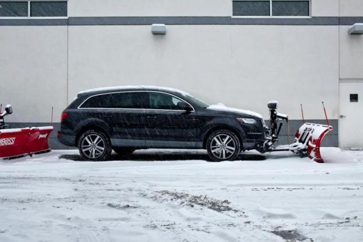 Audi Q7 Snow Plow