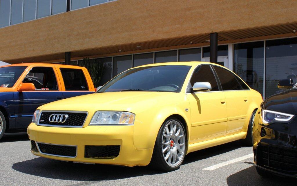 C5 RS6 Imola Yellow