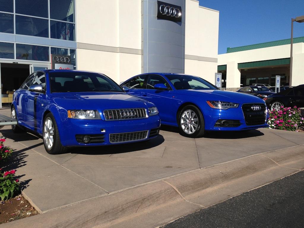 Nogaro Blue B6 S4 + A6