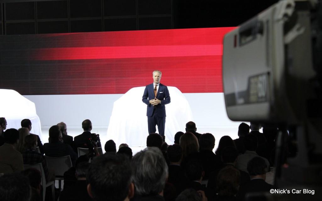 Audi Press Event