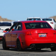 B7 Audi S4 DTM Rear Bumper
