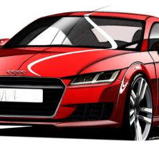 New Audi TT Sports Sleek Design Sketches ahead of Geneva Motor Show