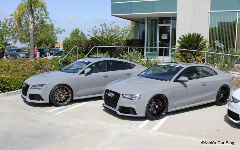 Nardo Grey RS7 and RS5
