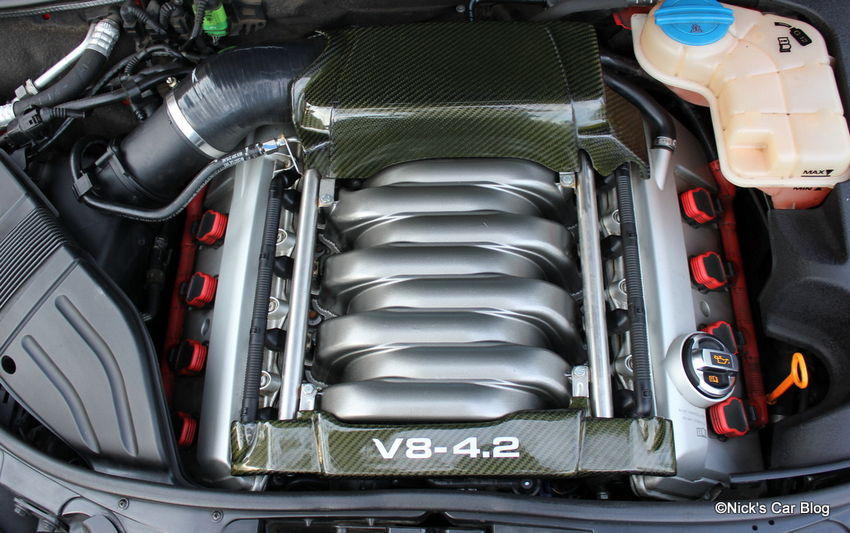 b6 b7 audi s4 carbon fiber engine covers r8 oil cap nick 39 s car blog. Black Bedroom Furniture Sets. Home Design Ideas