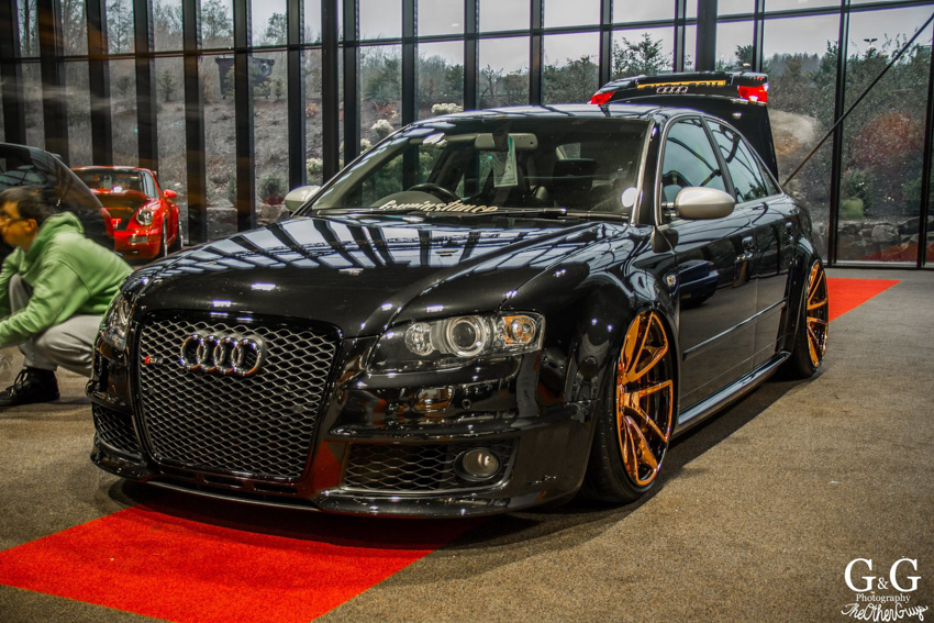 How To Blackout Audi Grill