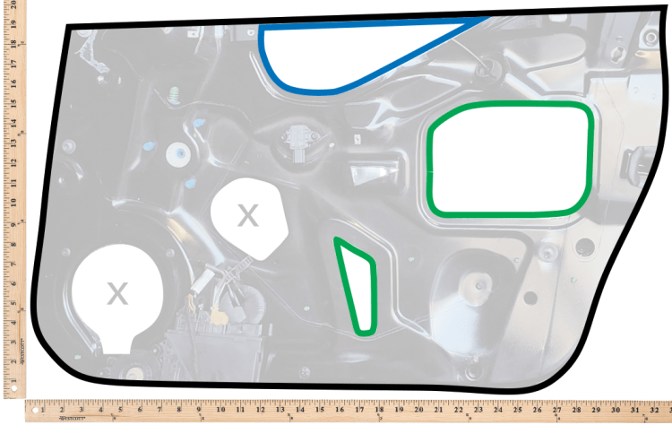 dynamat-plug-door-frame-holes