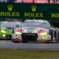 2017 Rolex 24 at Daytona Audi Coverage