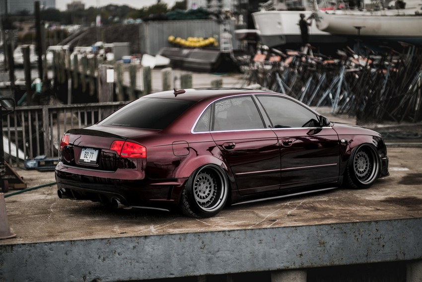 Joe's Bagged B7 with 2 7L Twin Turbo Swap | Nick's Car Blog