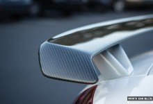 Photo of OSIR Top-Gloss Carbon Fiber Rear Wing for TTRS