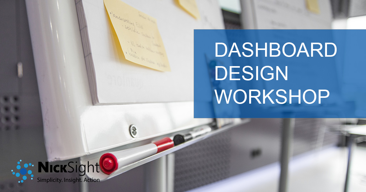 Engage NickSight to conduct a dashboard design workshop for your next enterprise-grade dashboard.