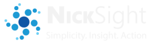 NickSight: Simplicity. Insight. Action