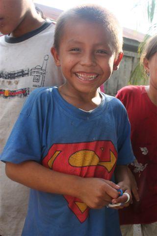 Superman in the Amazon of Peru