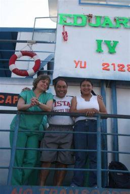 Pastor & Karen & Rocelia