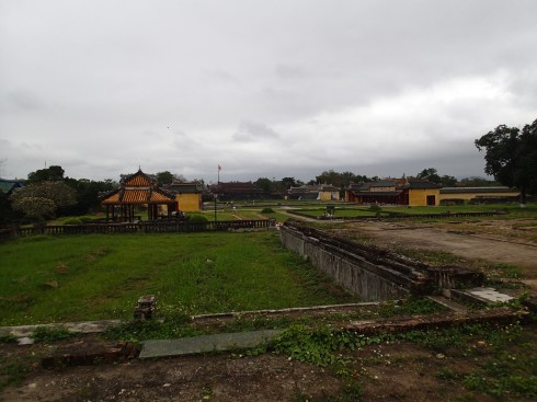 Imperial City, in what used to be a building before the Vietnam War.