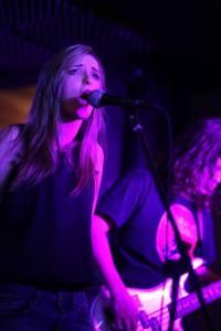 Leanna Mercer singing
