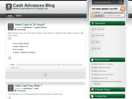 Cash Advances Blog