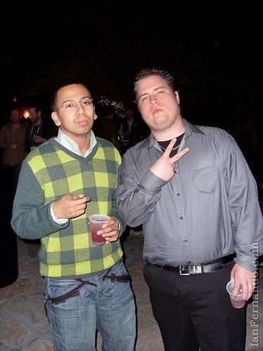 Ian Fernando & Me @ Advaliant Party!