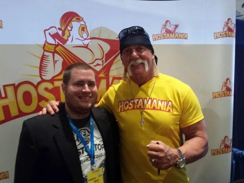 Hulk Hogan Hostmania Affiliate Summit West 2015
