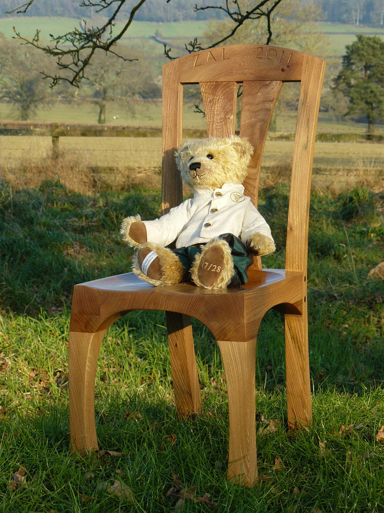 Elm child's chair