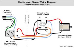 Nick Viera: Electric Lawn Mower Switch Repair