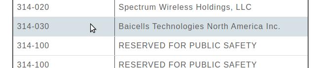 BaiCells USIM PLMN Issues (MNC 314 / MCC 030 vs MNC 311 / MCC 98)