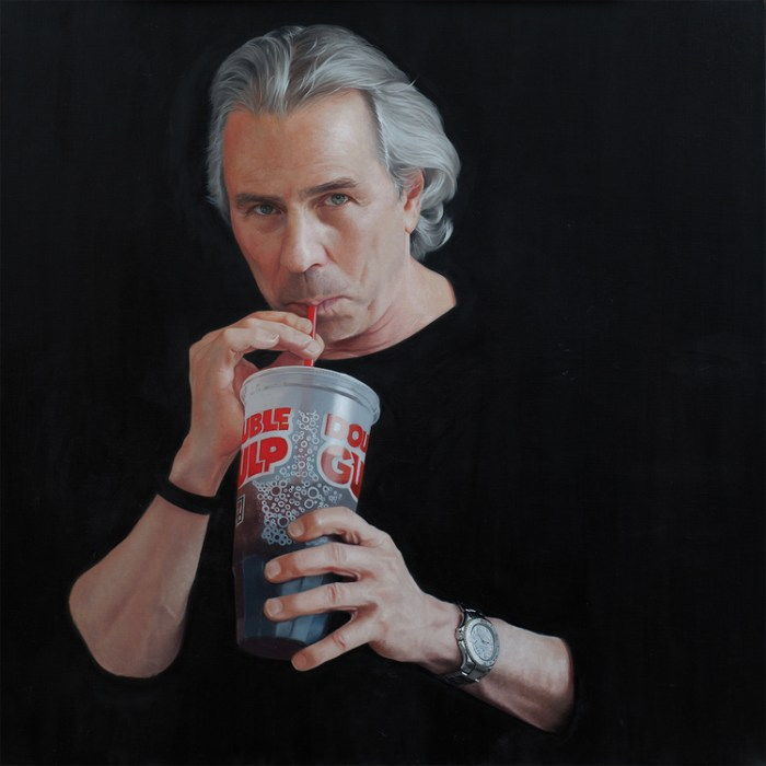 """Double Gulp"" by Nadine Robbins"
