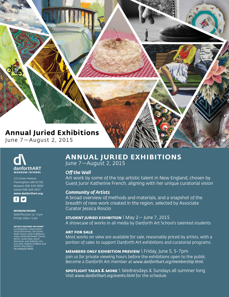 FY15 Annual Juried Exhibitions OTW COA Evite