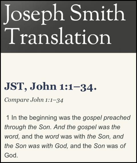 jst - john 1-1