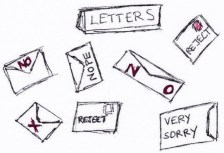 Reject Letters colour