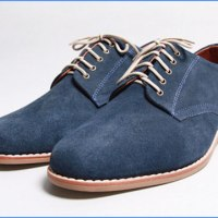 STYLE: Old Gold Boutique's Henry Blue Suede Shoes
